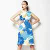 Watercolor Drawn Florals (Dress)