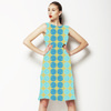 Pencil Polka Dot Seaside Stripe (Dress)