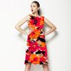 Floral Ikat (Dress)
