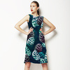 Tropical Leaves Dark (Dress)