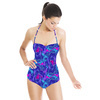 Blue Zigzag (Swimsuit)
