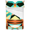 Geometric Colorful Pattern (Bed)