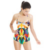 Abstract Colorful Pattern (Swimsuit)