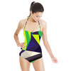 Abstract Digital Pattern (Swimsuit)