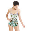 Flower With Zebra 1010 (Swimsuit)