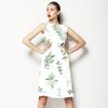 Floral Pattern Succulents (Dress)