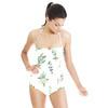 Floral Pattern Succulents (Swimsuit)