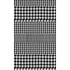 Black & White Houndstooth (Original)