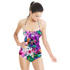Seamless Floral and Paisley Pattern (Swimsuit)