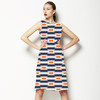 Retro Square Stripes (Dress)