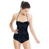 Indigo Knit Texture (Swimsuit)