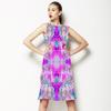 Cyan Palm Tropic (Dress)