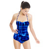 Random Check Plaid in Repeat (Swimsuit)