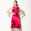Vector Floral All Over Roses (Dress)