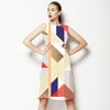 Graphic Fractured Geos (Dress)