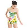 Vector Floral Scattered Flowers Bohemian (Swimsuit)
