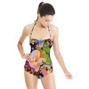 Fleur Du Brancovan 1 Rose - Black (Swimsuit)