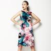 BPT0906 Dark Bouquet (Dress)
