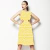 Yellow Zig Zag (Dress)