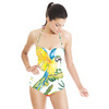 Parrots and Exotic Flowers Pattern (Swimsuit)
