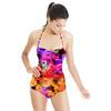 Floral Ikat (Swimsuit)