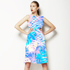 Pastel Silhouettes (Dress)