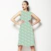 Green Basics Dotted Stripes (Dress)