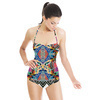 Mexican Inspired Hand Drawn Marks Pattern (Swimsuit)