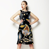 Traditional Paisley Pattern. Vector. (Dress)