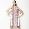 Pink and White Pastel Stripes (Dress)