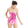 Fuchsia Tropical Garden (Swimsuit)