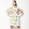 Scribble Marker Blotch Spots Brushstrokes (Dress)