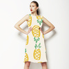 Hand Drawn Marker Pineapple Fruit (Dress)