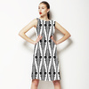 Black and White Tribe (Dress)