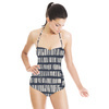 Stripe Batik Tribal Stripe (Swimsuit)
