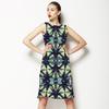 Seamless Pattern Modern Patchwork (Dress)