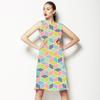 Multi Square Cube Geo (Dress)