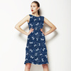 Indigo Dragonfly Stitch (Dress)