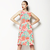 Vector Flowers Acid Colors (Dress)