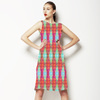 Abstract Feathers (Bpt0542) (Dress)
