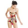 Retro Flowers (Bpt0664) (Swimsuit)