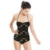 Geometric African Print (Swimsuit)