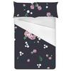 Blue Floral Pattern (Bed)