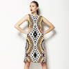 Native American Dreamcatcher Pattern White (Dress)