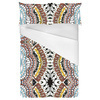Native American Dreamcatcher Pattern White (Bed)
