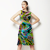 Colorful Camouflage Disco Party 60s 70s 80s Background 3 (Dress)