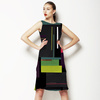 Geometric Colour Palette Collage (Dress)