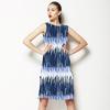 Distressed Hand Drawn Stripes (Dress)
