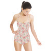Romantic Floral With Texture (Swimsuit)