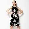 Dark Tropical Floral Seamless Pattern (Dress)